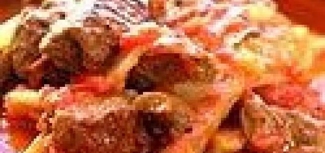 Lammekjøtt med fennikel og tomat