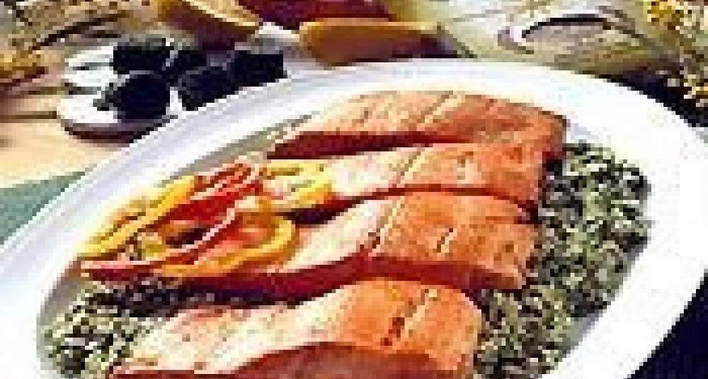 Ørretfilet med couscous
