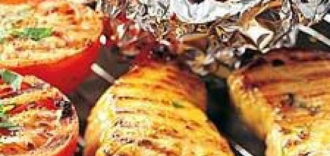 Honningmarinert skinkebiff