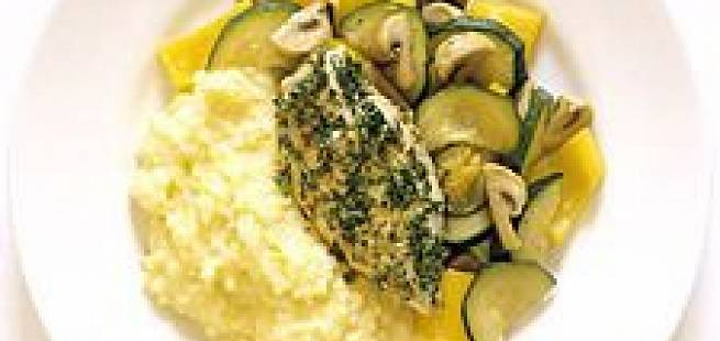 Kyllingfilet med hjemmelaget potetmos