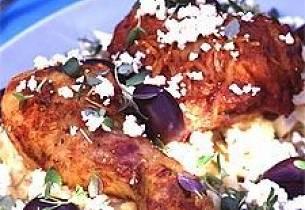 Gresk kyllingsalat