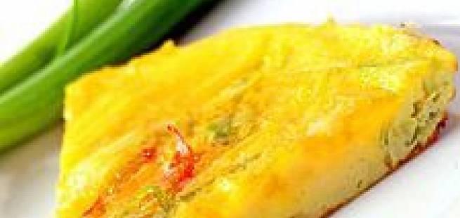 Eggepanne med chili og hvitløk