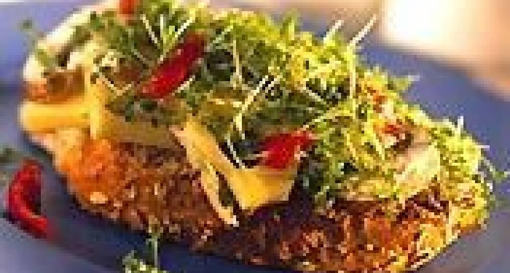 Blings med kyllingsalat