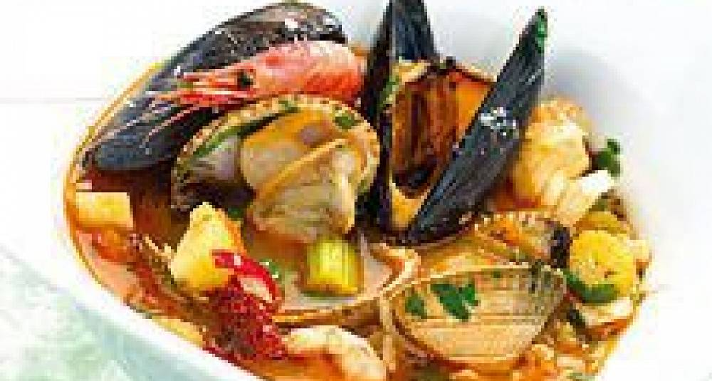 Sjømatsuppe
