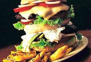 Den deilige hamburgeren