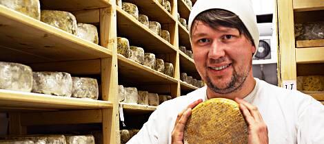 Her lages verdens beste ost