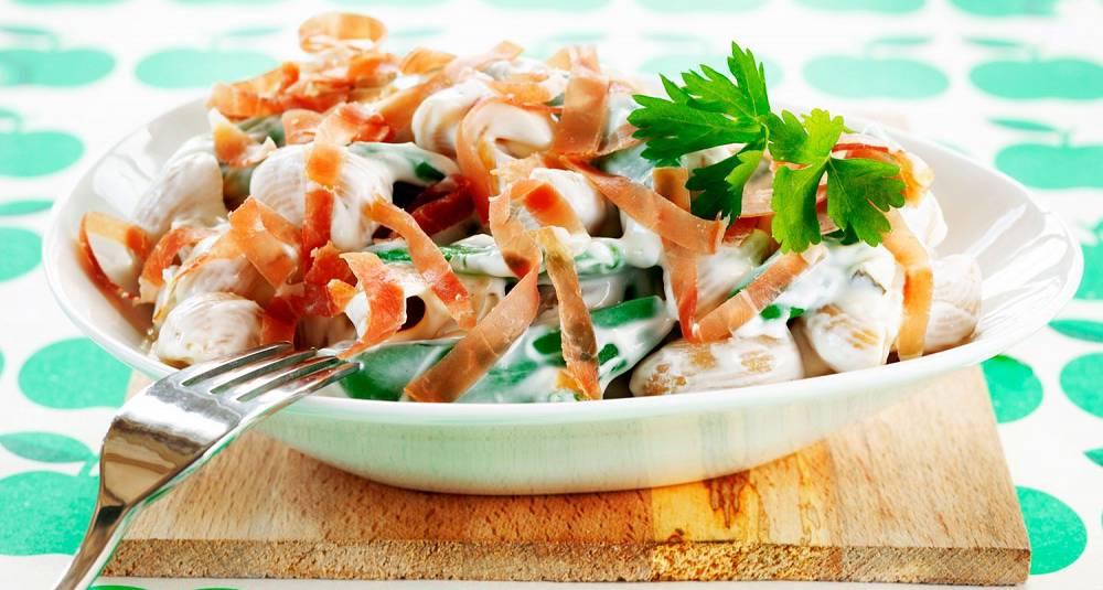 Sommerlig pastasalat