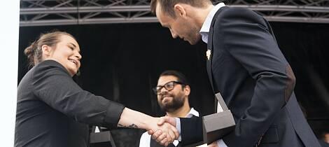 Håvard ble Årets Young Sommelier