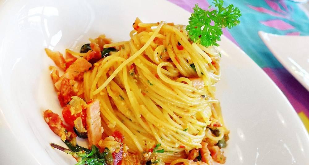Spaghetti all' amitriciana