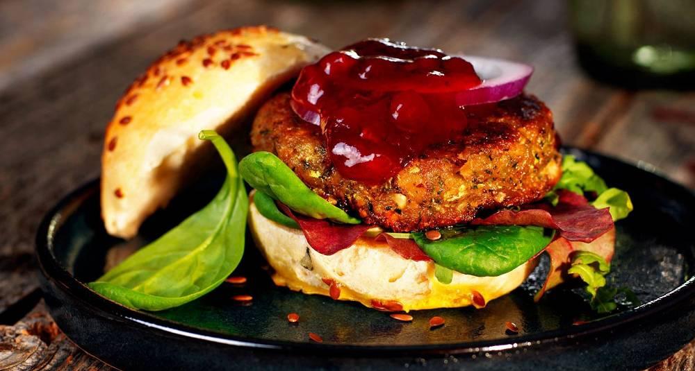 Med en slik burger er kjøttfritt uproblematisk