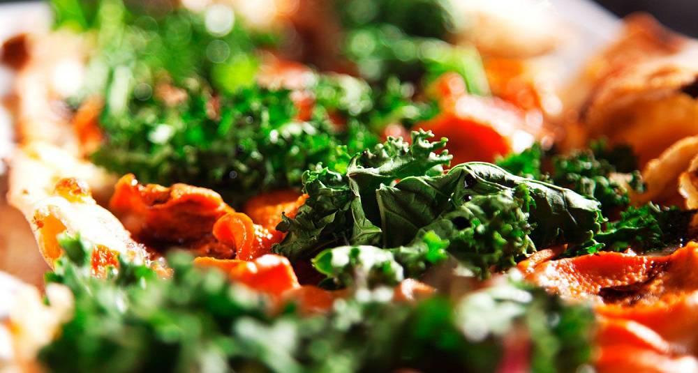 Grønnkålpizza