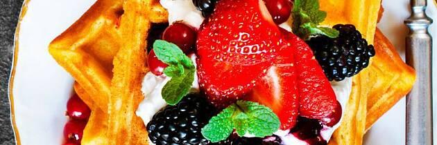 Dessert kan være like sunn som frokosten