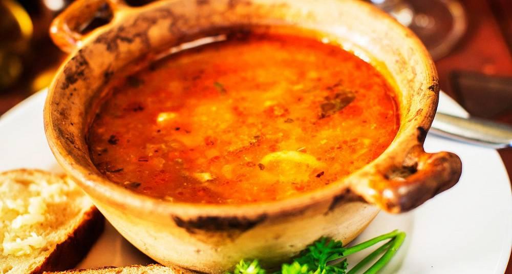 Fiskesuppe med torsk og rouille