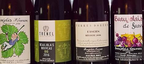 Slik smaker årets beaujolais nouveau