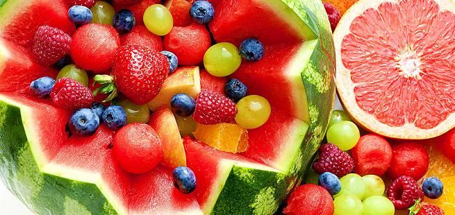 Fruktsalat som i India