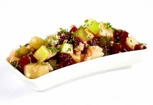 Rødbete- og potetsalat