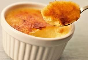 Crème Brûlée du fikser enkelt