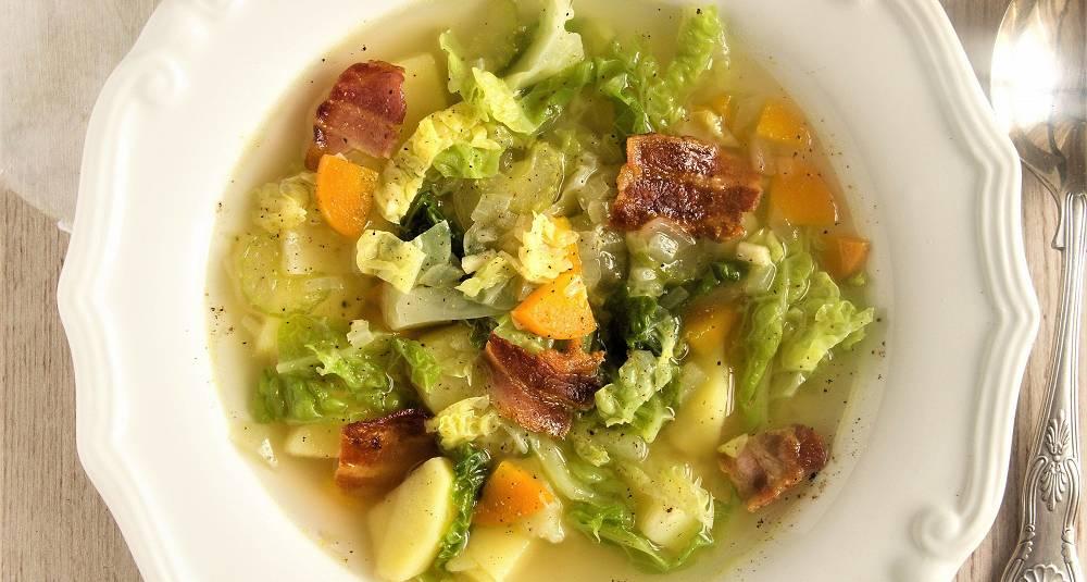 Caldo verde - portugisisk kålsuppe