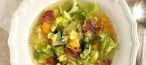 Savoykål smaker himmelsk i suppe