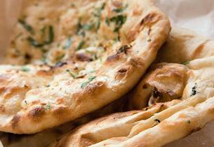 Naan-brød