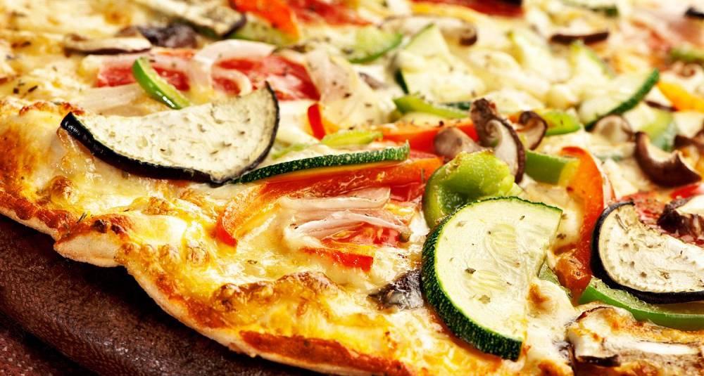 Grønnsakpizza