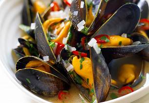 Moules Red Hot Chili