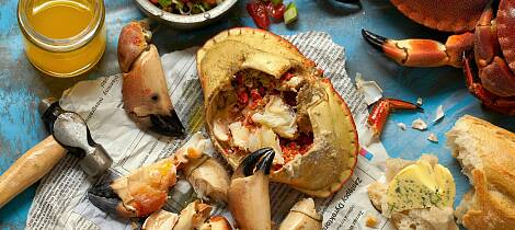 Slik renser og koker du krabbe - og lager de lekreste retter