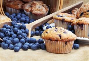 Slik skal blåbærmuffins smake