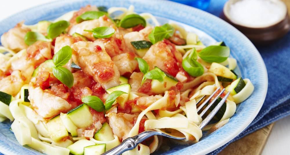 Pasta med fisk bør du lage oftere