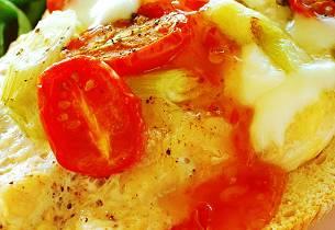 Ovnsbakt kyllingfilet med mozzarella