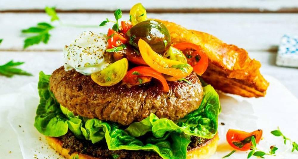 Denne gresk burgereren må du smake