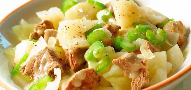 Lambakjøt meth Grænmeti - Lammekjøtt med grønnsaker