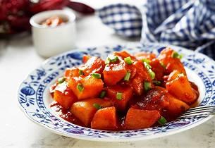 Paprikagryte med poteter