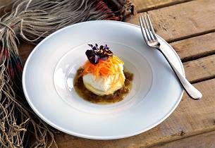 Stekt seifilet med løksmør og potetstappe