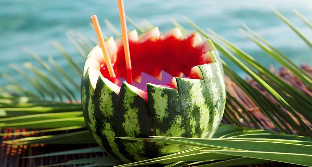 Vannmelon med vodka