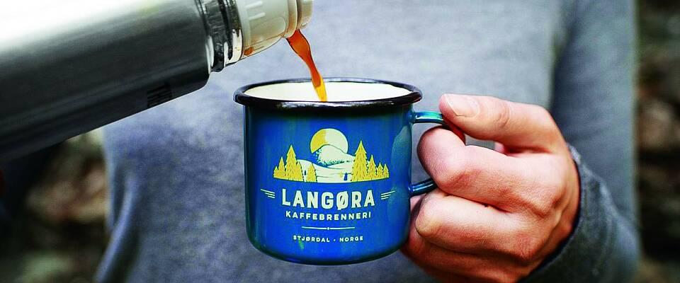 Har gjort kaffebrenning til en kunstart