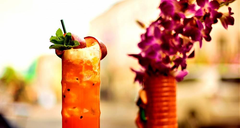 En slik drink gir ekte tropisk stemning