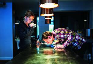 Har du lurt på hvordan restaurantene finner fram til perfekte mat- og vinkombinasjoner?