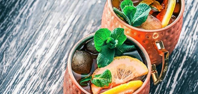 Gin-Gin Mule drinkoppskrift