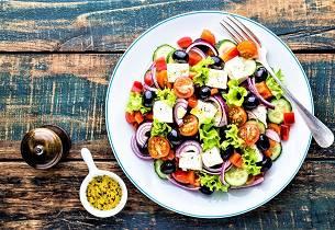 Gresk salat Horatiki Salata
