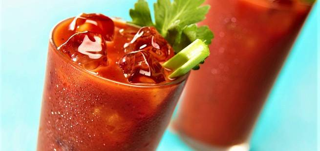 Bloody Mary med selleristang