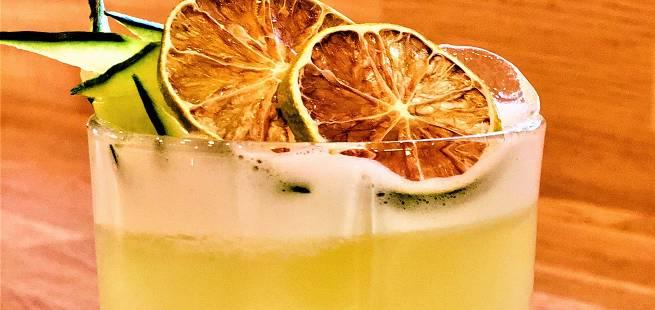 Gin sour a la Publiko