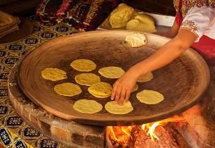 Hjemmelaget tortillas med masa harina