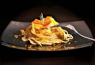 Spaghetti med bottarga