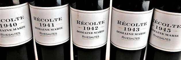 Dette er kanskje den siste smaken av viner fra denne historiske epoken