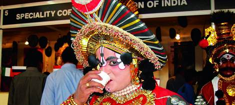 Nå tegnes Indias kaffekart