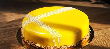 Denne kaken vil skinne som sola på kakebordet