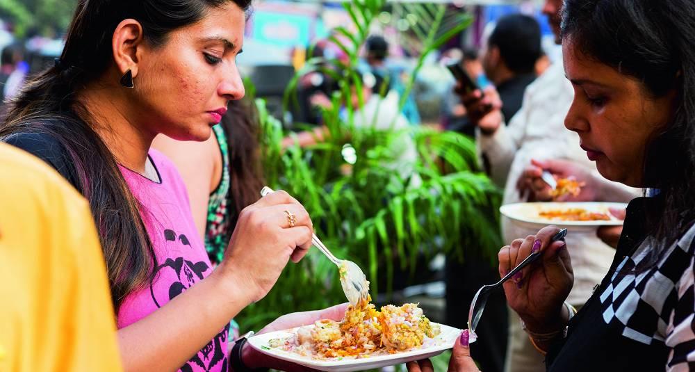 India er gatematens mekka - og den er som oftest vegetarisk