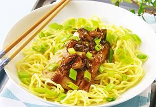 Seifilet med soyasaus og ingefær