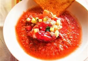 Gazpacho med vannmelon